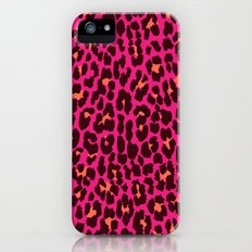 Pink Leopard iPhone (5, 5s) Slim Case