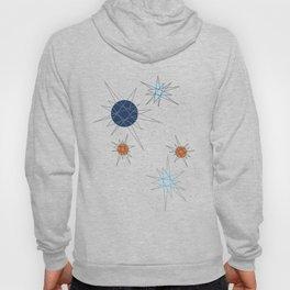Atomic Stars Blue & Orange Hoody