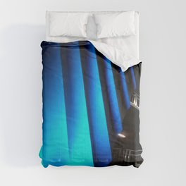 Exotic Blue Comforters