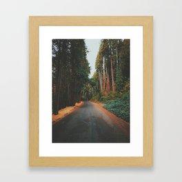 Eugene - Skinners Butte Framed Art Print