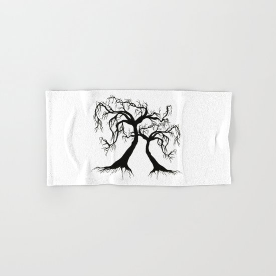 Twisted Trees  Hand & Bath Towel