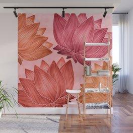 Lotus Love Wall Mural