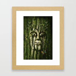 The Tremendous Mr. Treebley Framed Art Print