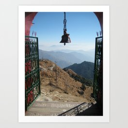 Himalayan Mountain Gate Art Print