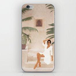 Graceful Resting II iPhone Skin