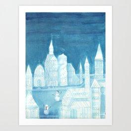 Crystal City 12-27-10d Art Print
