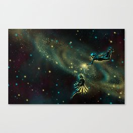 The Space Between Us Canvas Print