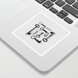 Skeleton Keys Sticker