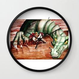 Saint George And The Dragon Wall Clock