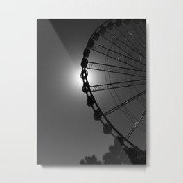 Eye of the Needle Metal Print