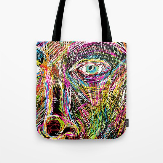 The Most Gigantic Lying Eyes Tote Bag