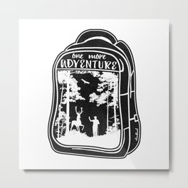 One More Adventure Metal Print