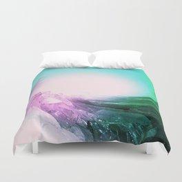 Crystal Wave Duvet Cover