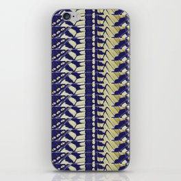 BUTTERFLY STRIPES iPhone Skin