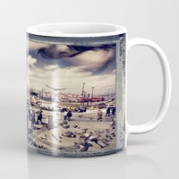 istanbul Mugs featuring Istanbul by Anto Bozzini