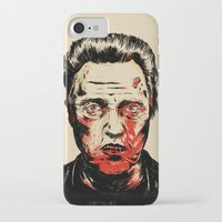 christopher walken iPhone & iPod Cases featuring Walken Dead by Chase Kunz