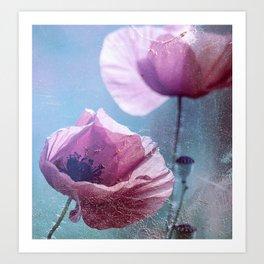 Poppy Spinning Art Print