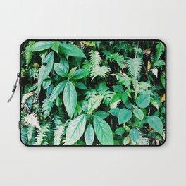 Jungle plants pattern in Minca, Colombia Laptop Sleeve