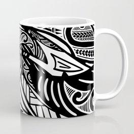 Black And White Poly Print Coffee Mug