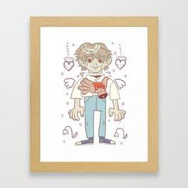 Killing date match Framed Art Print