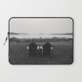 Pair of Chairs in Weekapaugh Rhode Island Laptop Sleeve