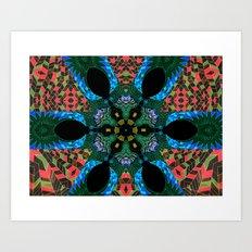 Speaking in Leaves - Cycles, 034 Art Print