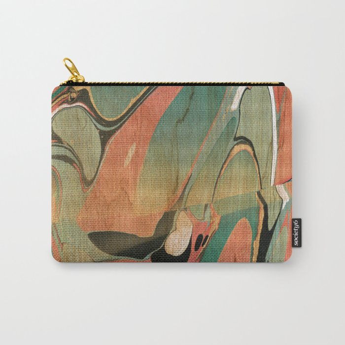 Abstract Painting ; Utah #2 Carry-All Pouch