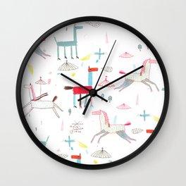 MerryGoRound Wall Clock