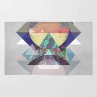 minimalism Area & Throw Rugs featuring Minimalism 11 by Mareike Böhmer
