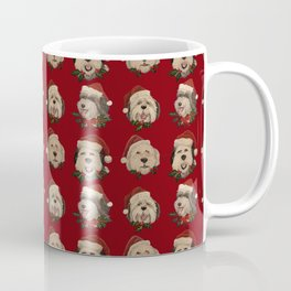 Santa Pups Coffee Mug