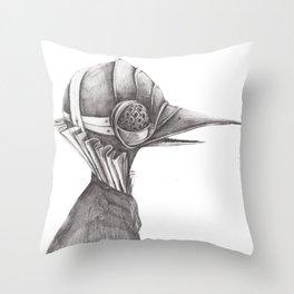 Birds from War. I Throw Pillow