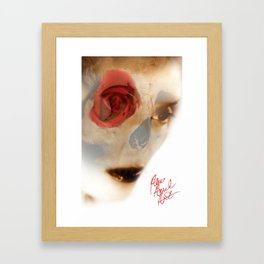 evil women Framed Art Print