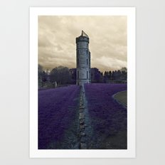 Eglinton Ruins Kilwinning Scotland  Art Print