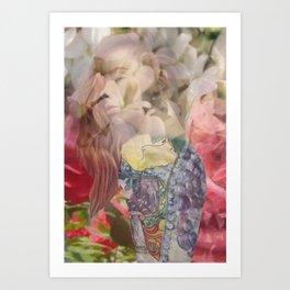 Vine Girl Art Print