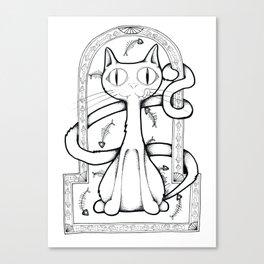 Catilicious Canvas Print