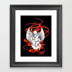 Angel Gangsta Framed Art Print