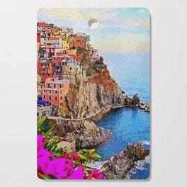 Italy, Cinque Terre Cutting Board