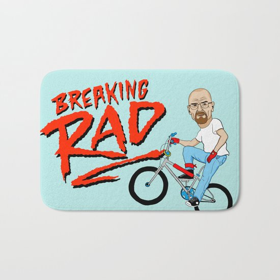 Breaking Rad Bath Mat