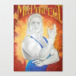 Mr. Perfect Canvas Print