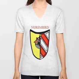The Angry Nuernberg Nurembird Unisex V-Neck