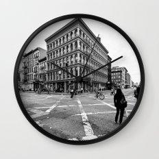 New York Soho Wall Clock