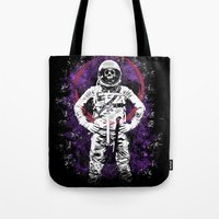 buzz lightyear Tote Bags featuring This Ain't No Buzz Lightyear Action Flick by WhotheFisJC
