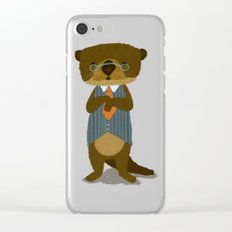 Mr. Otter Clear iPhone Case