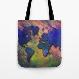 World map special 5 Tote Bag