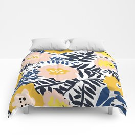 Outdoor: florals matching to design for a happy life Comforters