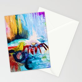 Red Crab Stationery Cards