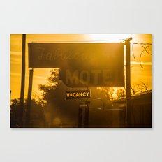 Fabulous Motel Canvas Print