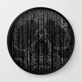 Matrix skull | The matrix | Skull | Skulls | Red pill | Blue pill Wall Clock