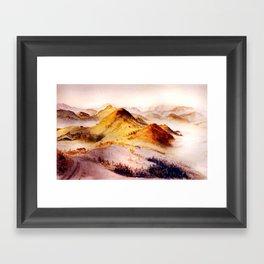 Vorarlberg in Austria Framed Art Print
