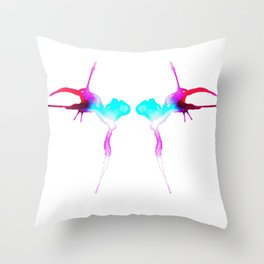 Birds of a Feather Snipe Together Throw Pillow